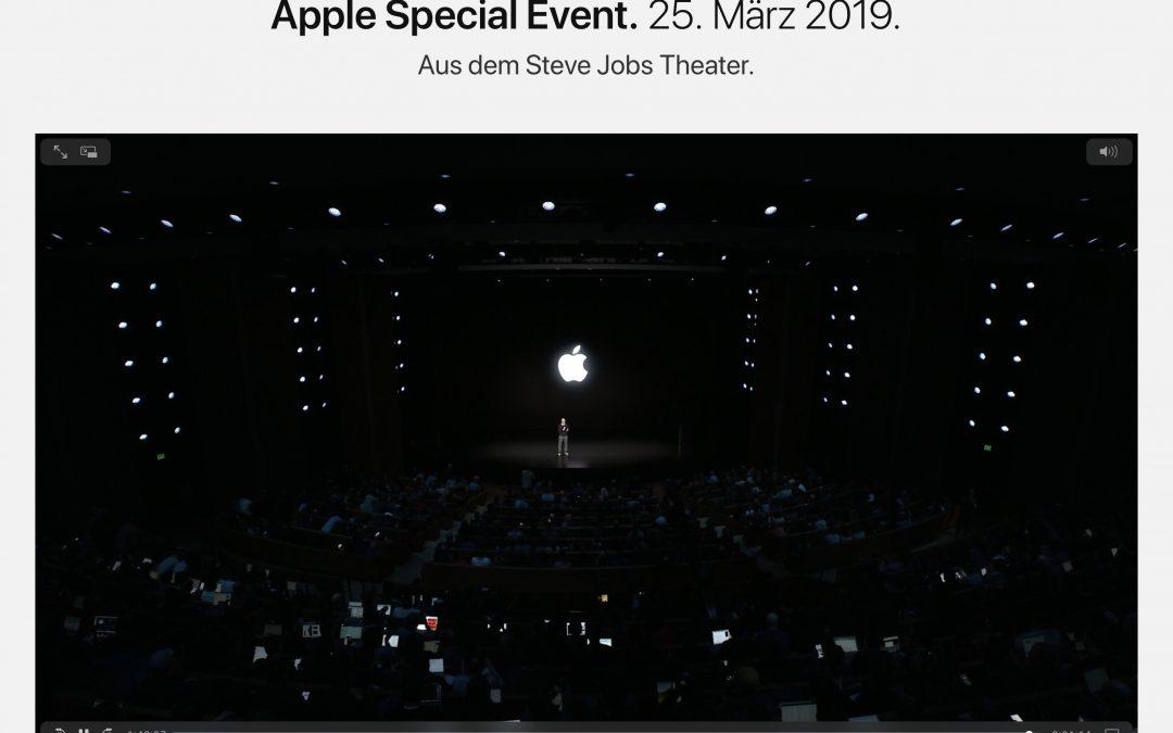 Was Apple letzte Woche und gerade vorgestellt hat