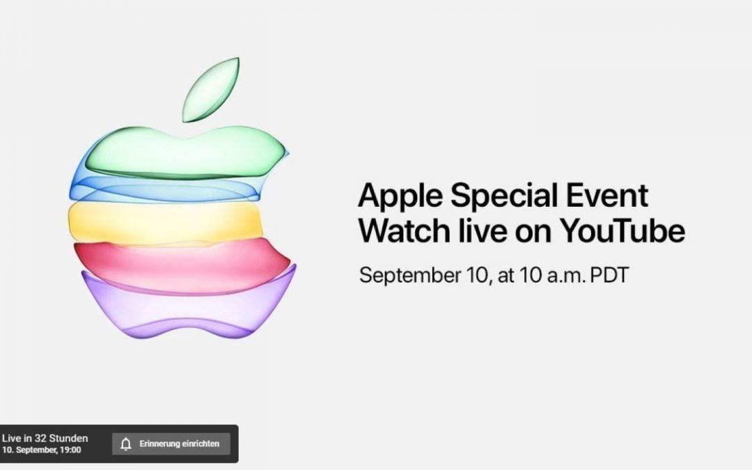 Apple Keynote 10.9.2019 – Zusammenfassung