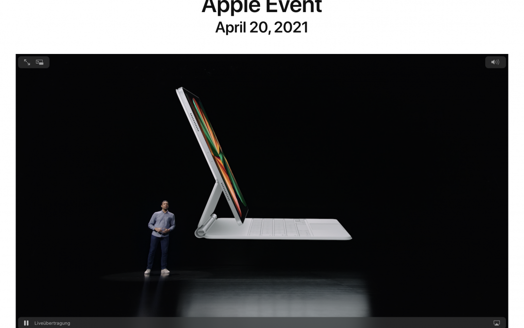 Apple Keynote April 2021