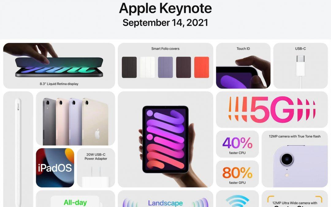 Apple Keynote 14.9.2021 – Neues iPhone 13