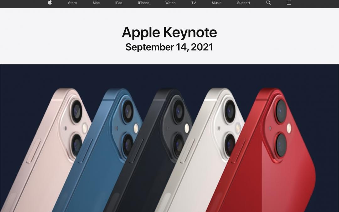 Podcast – Das war die Apple Keynote vom 14.09.2021