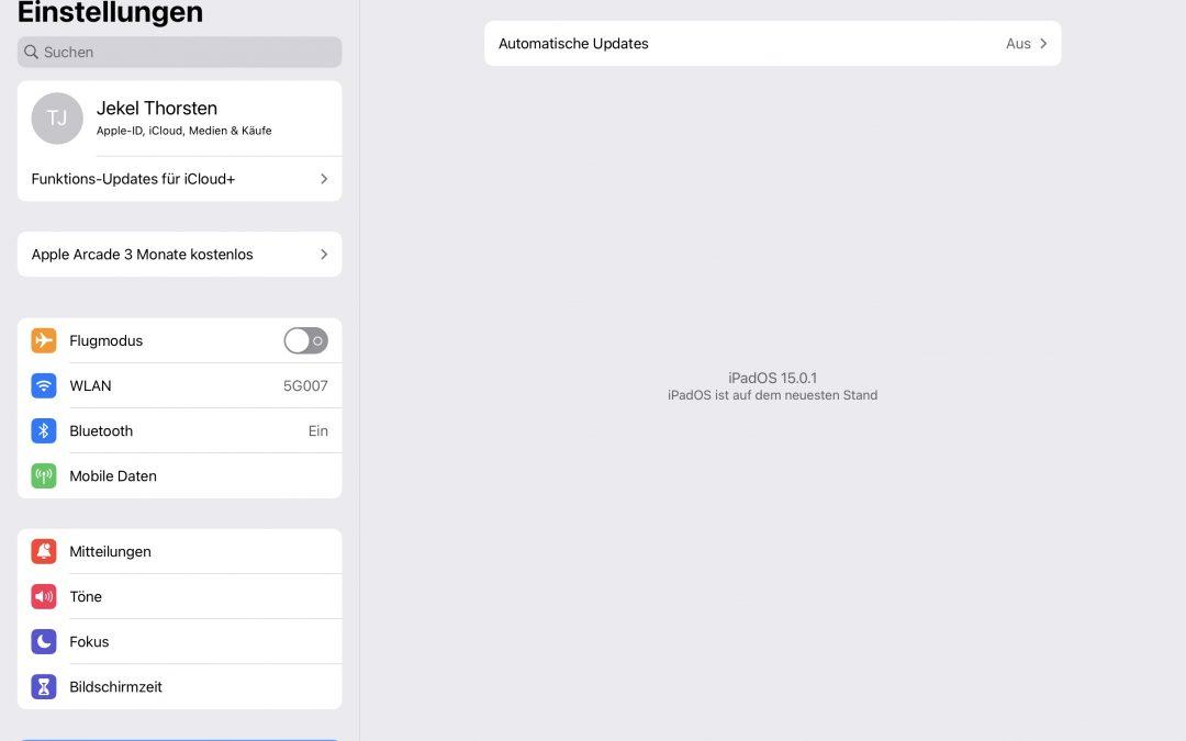 Das neue Betriebssystem iOS 15